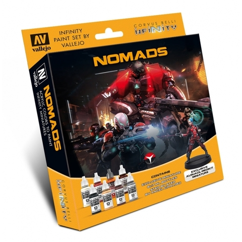 Model Color Set: Infinity Nomads Exclusive Miniature