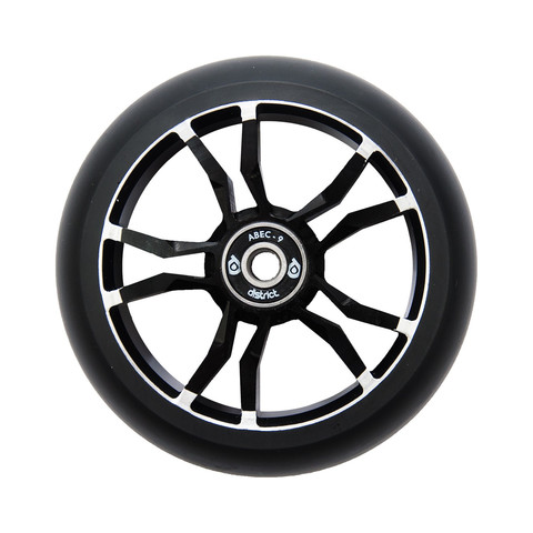 Колесо для самоката DISTRICT LM110 Wide Wheel Milled Core (Black)