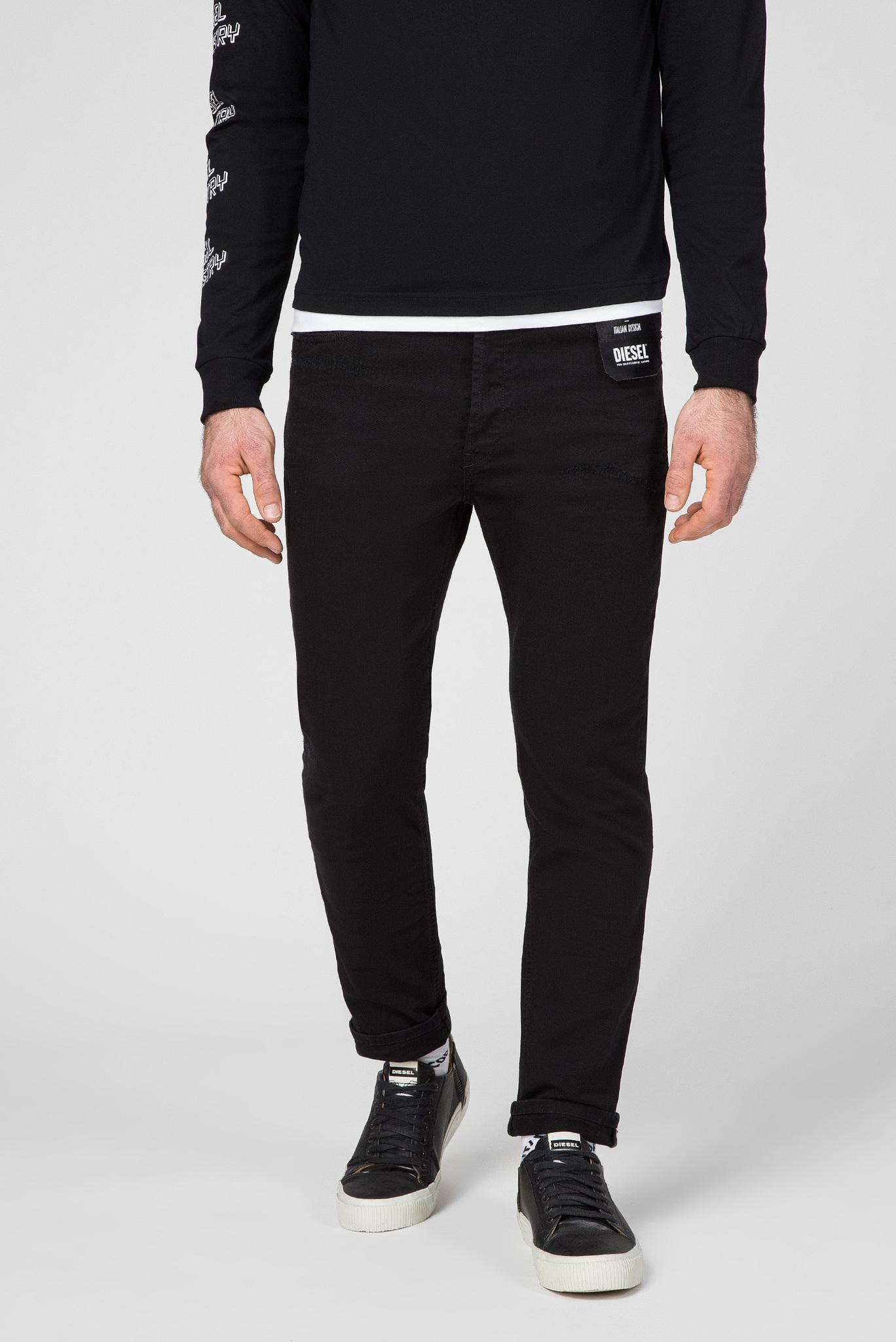 Мужские черные джинсы D-EETAR Diesel