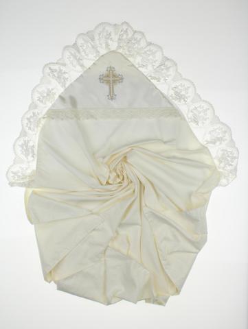 Пеленка крестильная Нежность ( 2 цвета)