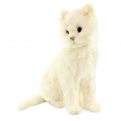 Hansa Кот белый, 37 см (4160)