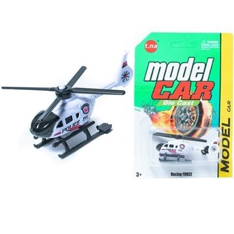 Машина металл Авиатехника вертолеты ModelCar в ассортименте на карт., 1кор*1бл*6шт