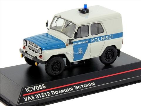 UAZ-31512 Estonian Police Vanalinna Politsei 1:43 ICV055