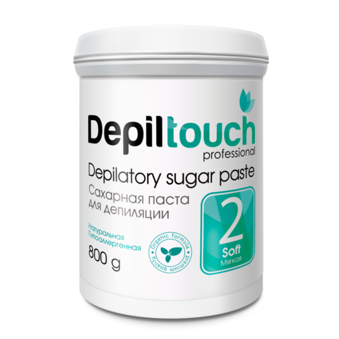 Сахарная паста для депиляции Depiltouch prof мягкая 800 г.