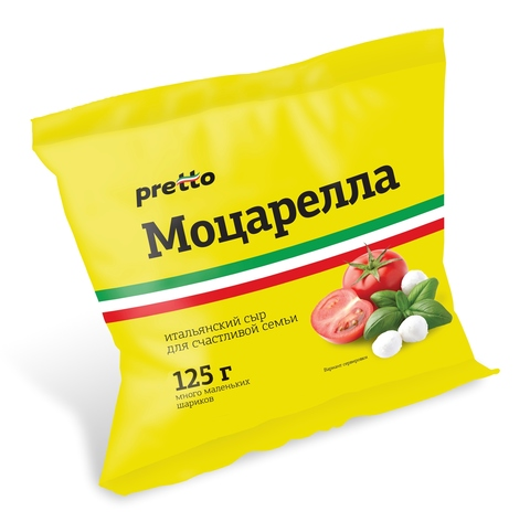 Сыр моцарелла «Умалат» Чильеджина Претто 45% 100 гр