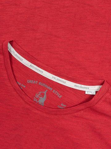 """Men's """"VELIKOROSS"""" red t-shirt"""