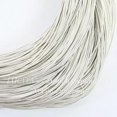 Канитель для вышивания жесткая 0,9 мм (цвет - матовое серебро)