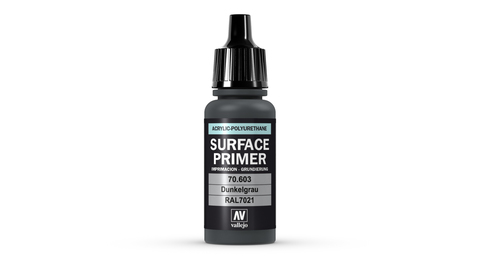 Surface Primer Dunkelgrau RAL7021 17 ml.