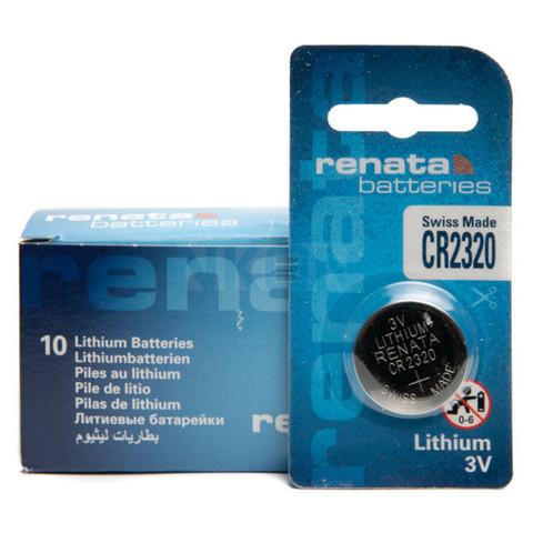 Батарейки литиевые Renata CR 2320 (1 BL)