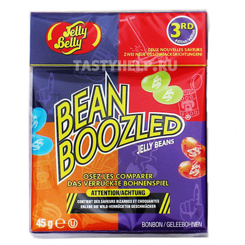 Конфеты Bean Boozled Jelly Belly (45 гр.) (Бин Бузлд)