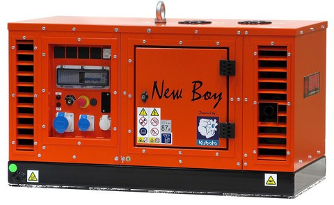 Генератор Europower EPS 123 DE Серия NEW BOY