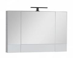Зеркало-шкаф Aquanet Нота 100 белый