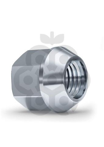 Гайка колёсная М14x1.5 длина=25мм ключ=19мм открытая конус 60º хром