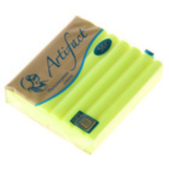 Полимерная глина запекаемая Артефакт, флуоресцентные цвета,  56 г, 1 шт.
