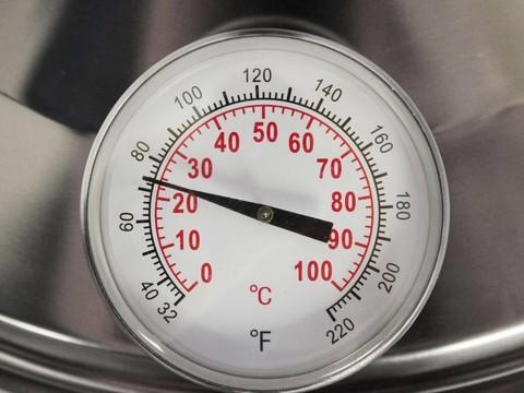 Термометр домашнего пастеризатора Milky FJ15, Австрия. Фото