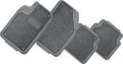 Автомобильные коврики универсальные, с текстильной вставкой (комплект)
