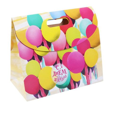 060-7936 Пакет подарочный «С Днем Рождения!»