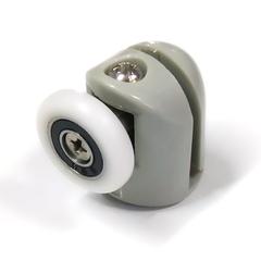 Ролик для душевых кабин B-43-B 26 мм полиуретановый ролик на закрытом подшипнике, каретка металическая с антикоррозийный покрытием.