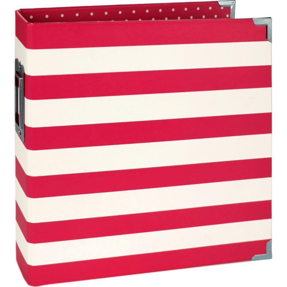 Альбом на кольцах для Life Project 15x20 см -Red Stripe