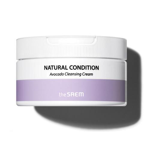 Очищающий крем для лица с экстрактом авокадо The Saem Natural Condition Avocado Cleansing Cream, 300мл