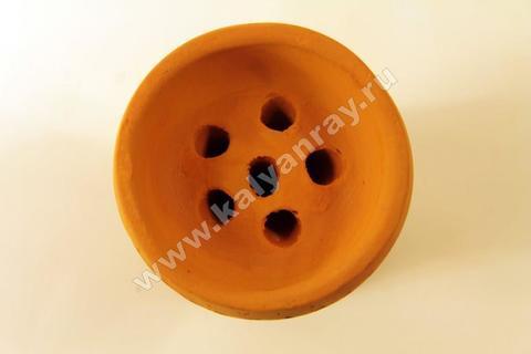Глиняная чашка - Турка, 6 дырочек