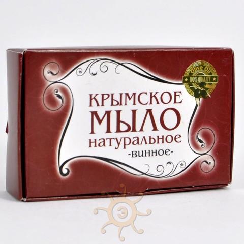 Мыло натуральное Винное Крымское, 85г