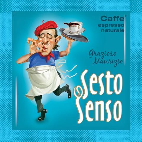 Sesto Senso Кофе в чалде Grazioso Mauricio (Сэсто Сэнсо эспрессо натурале)