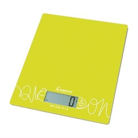 Весы кухонные стеклянные Momert