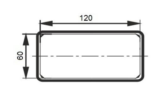 Соединитель-муфта 120х60