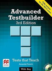 Advanced Testbuilder 3 Ed key+audio Pack