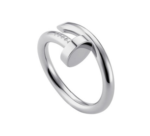 Кольцо  Juste Un Clou Ring White Gold