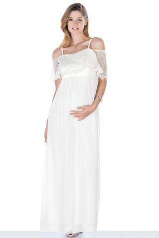 Платье для беременных 09449 экри