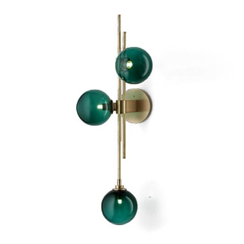 Настенный светильник Trilogy by Articolo Lighting (зеленый)