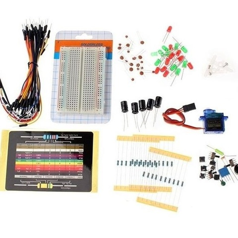 Набор электронных компонентов в пластиковом кейсе для Arduino