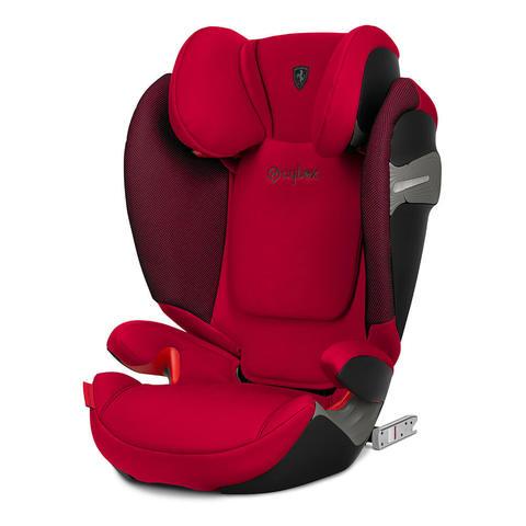 Автокресло Cybex Solution S-Fix FE Ferrari Racing Red
