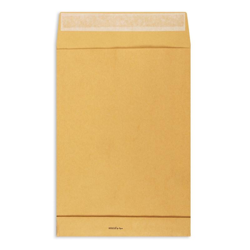 Пакет Extrapack B4 из крафт-бумаги 120 г/кв.м стрип (250 штук в упаковке)