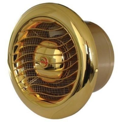 Накладной вентилятор MMotors JSC MM-100 LUX GOLD (24 Karat Gold)
