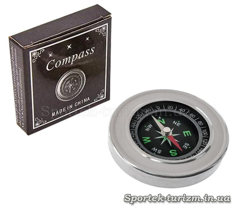 Магнитный компас DC-60 (d-60мм, металл, пластик)