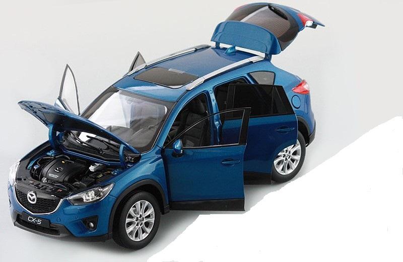 Коллекционная модель Mazda CX5 2014