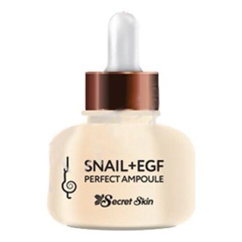 Омолаживающая Сыворотка с муцином улитки и EGF Snail + EGF Perfect Ampoule