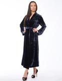 Элитный женский велюровый халат B&B
