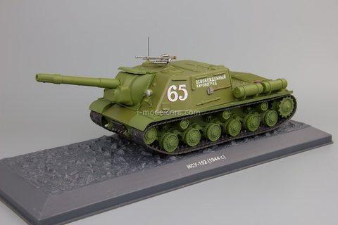 Tank ISU-152 1944 1:43 DeAgostini Tanks. Legends Patriotic armored vehicles #12