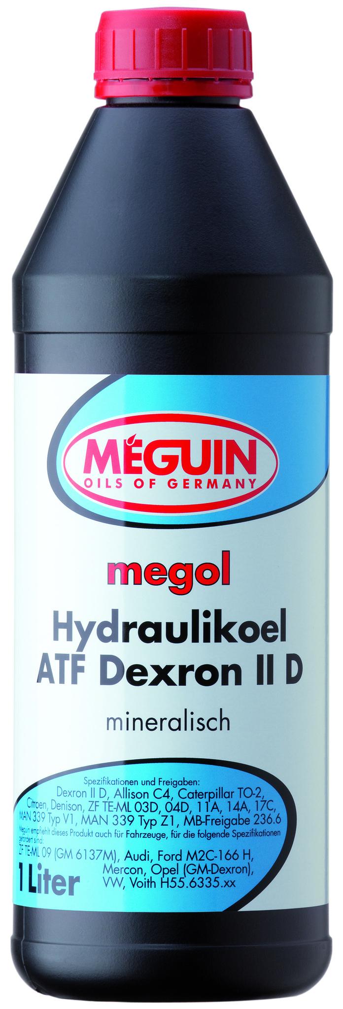 Meguin Megol Hydraulikoel ATF Dexron IID Минеральное трансмиссионное масло для АКПП