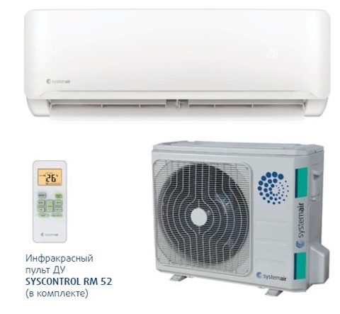 Systemair SYSPLIT WALL SMART 07 V4 HP Q