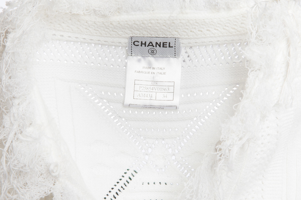 Chanel short knitted jacket, 34 size
