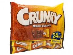 Шоколад Кранки хрустящий семейная пачка, Lotte, 85 гр.