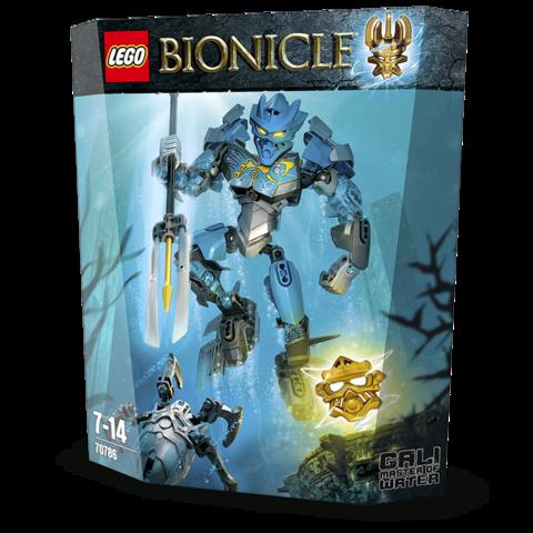 LEGO Bionicle: Гали – Повелительница Воды 70786 — Gali — Master of Water — Лего Бионикл