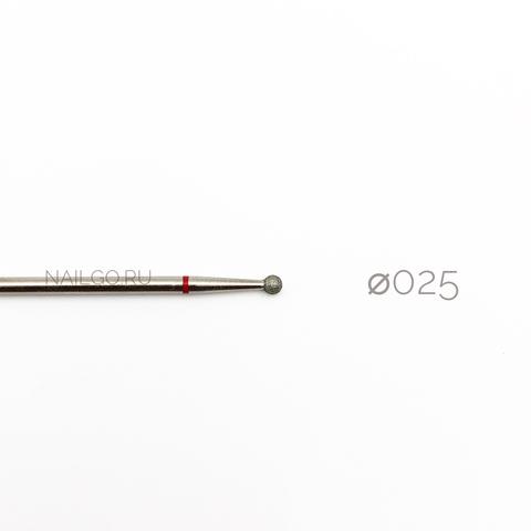 Красный шар 025