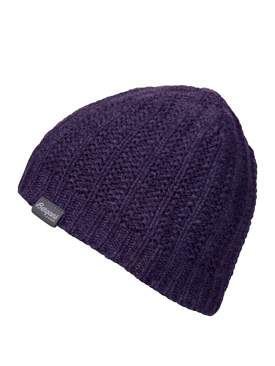 Bergans шапка 6236 Aks Beanie Purple Velvet Melange