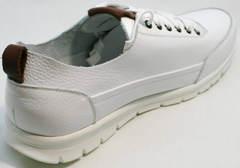 Белые спортивные туфли мужские Faber 193909-3 White.